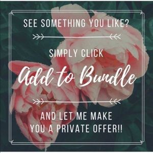 Other - Start a bundle for a personalized offer
